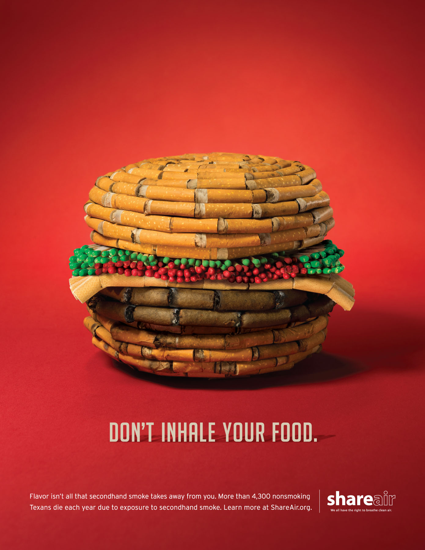 Share Air Print Advert By EnviroMedia: Food | Ads of the ...