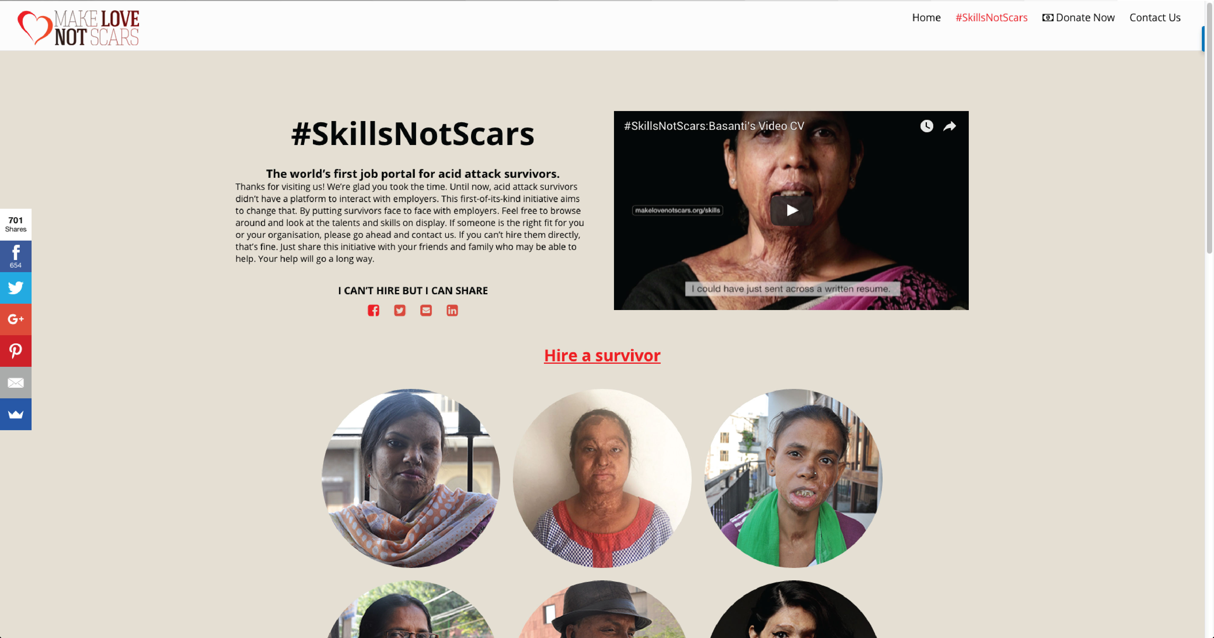 make love not scars digital advert by ogilvy basanti s video cv
