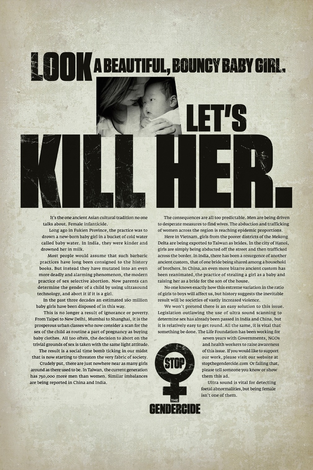 The Life Foundation Print Advert By Ogilvy Kill Her Ads
