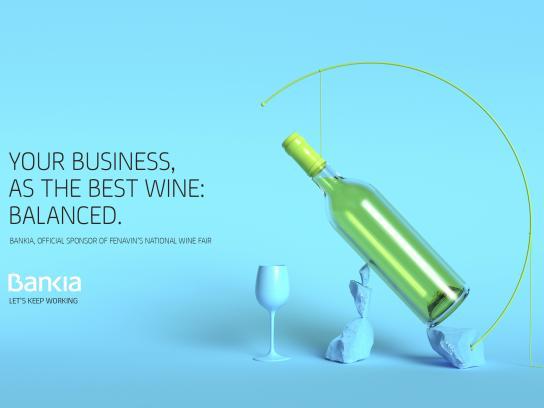 Bankia Print Ad - Wine, 4