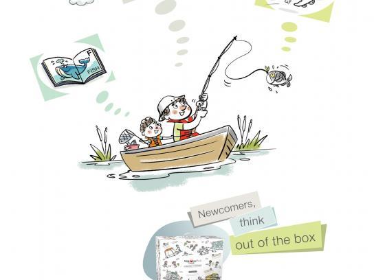 WelcomePack Print Ad -  Fishing
