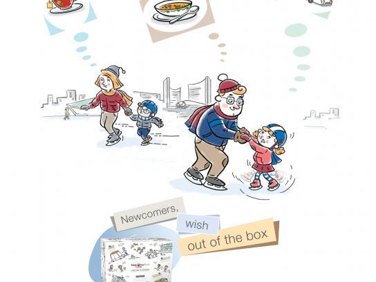 WelcomePack Print Ad -  Skating
