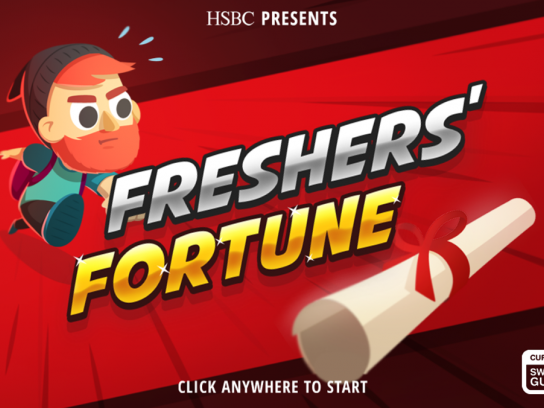 HSBC Digital Ad - Freshers' Fortune