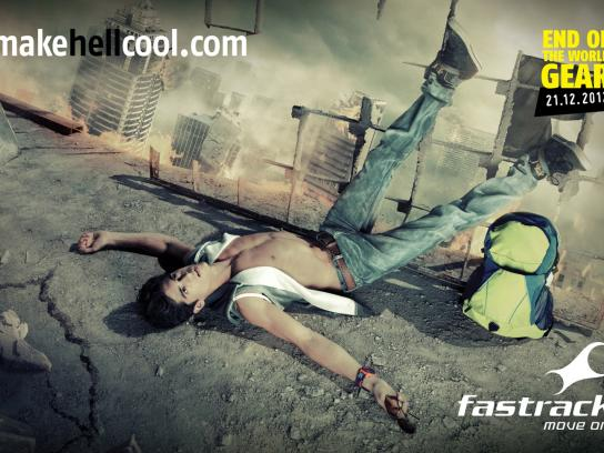 Fastrack Print Ad -  Make Hell Cool, 1
