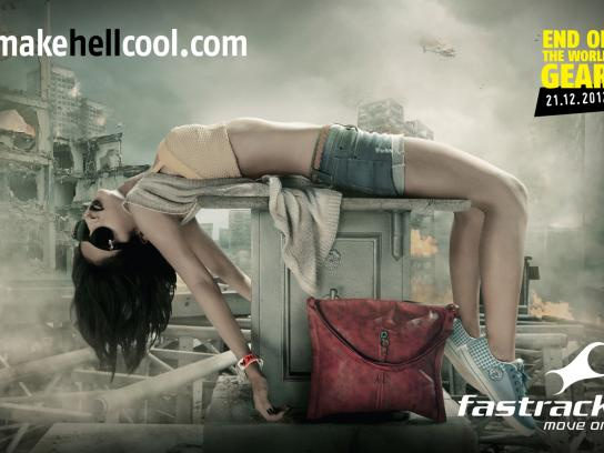 Fastrack Print Ad -  Make Hell Cool, 3