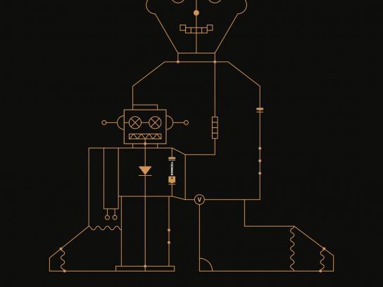 Duracell Print Ad -  Gameflow - robot