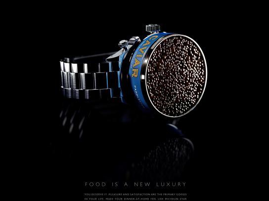 Le Silpo Delicacy Grocery Store Print Ad - Caviar