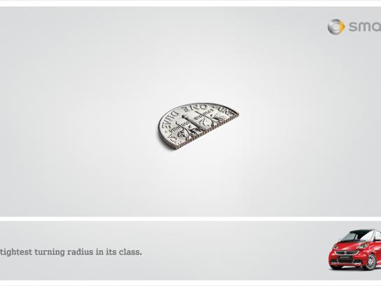 Mercedes Print Ad -  Half a Dime