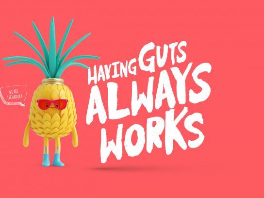 Licuadora Print Ad - Pineapple