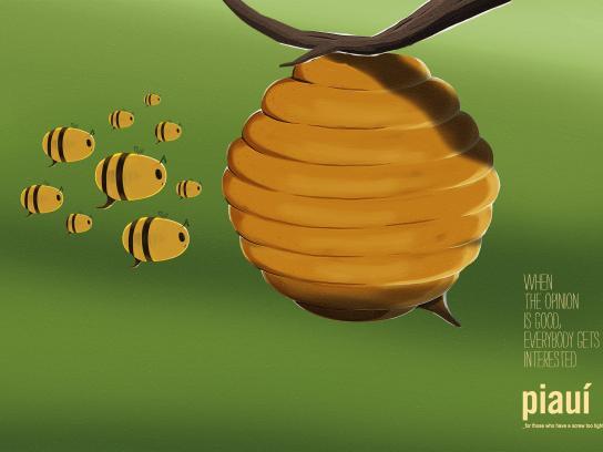 Piaui Print Ad -  Bees