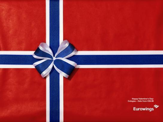 Eurowings Print Ad - Oslo