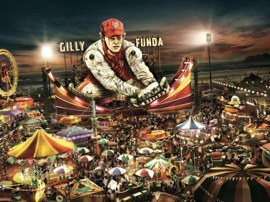 IPL Print Ad -  Gilly Funda