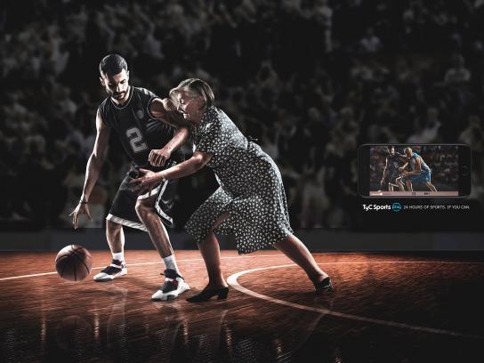 TyC Sports Print Ad - Grandma