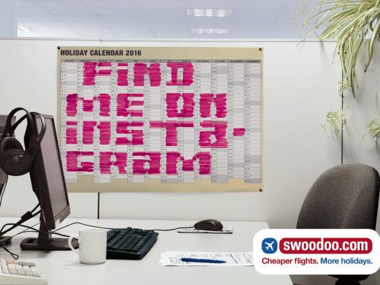 swoodoo.com Outdoor Ad -  Instagram