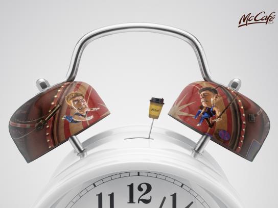 McCafé Print Ad - Alarm Clock, 1