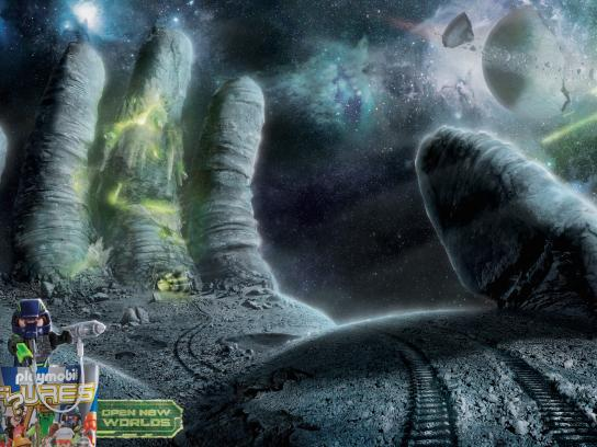 Playmobil Print Ad -  Open new worlds, 1