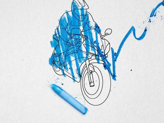 Nissan Print Ad -  Blue