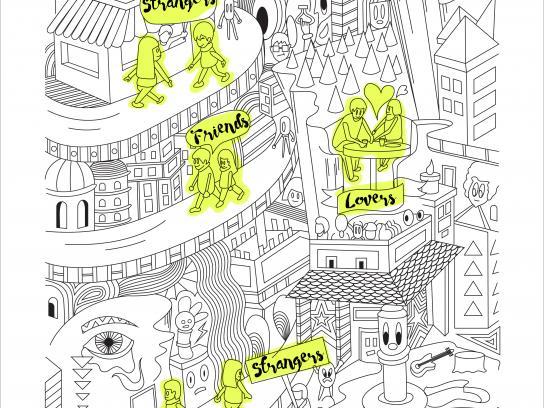 Faber-Castell Print Ad - Long Story Short - Strangers