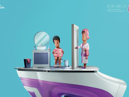 Philips Print Ad -  Instant turn off, 2