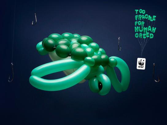 WWF Print Ad - Ballon animals, 2