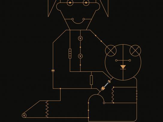 Duracell Print Ad -  Gameflow - bear
