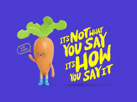 Licuadora Print Ad - Carrot