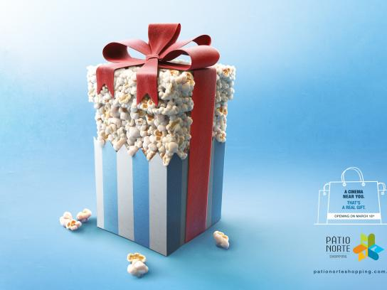 Pátio Norte Shopping Print Ad -  Real gift, 1