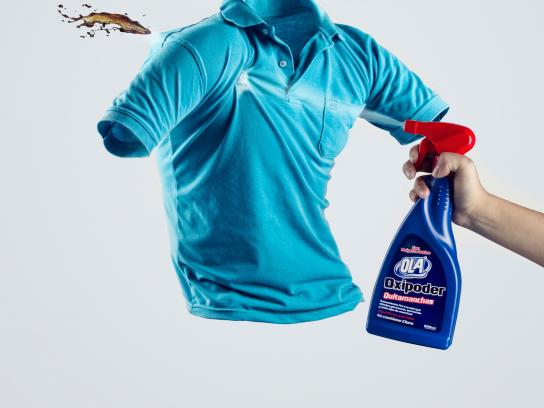 Ola Print Ad -  Eliminating stains, 2