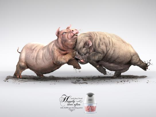 OTTO Print Ad -  Pigs