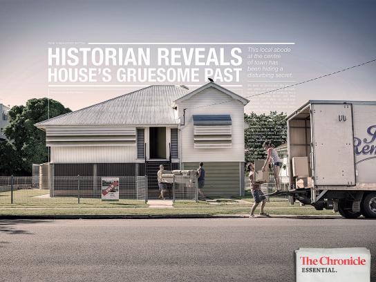 APN News & Media Print Ad -  Horror House