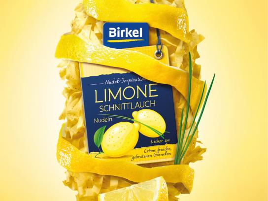 Birkel Print Ad - Lemon-chive