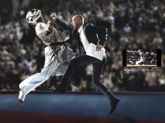 TyC Sports Print Ad - Boss