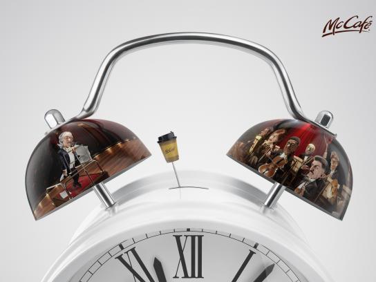McCafé Print Ad - Alarm Clock, 2