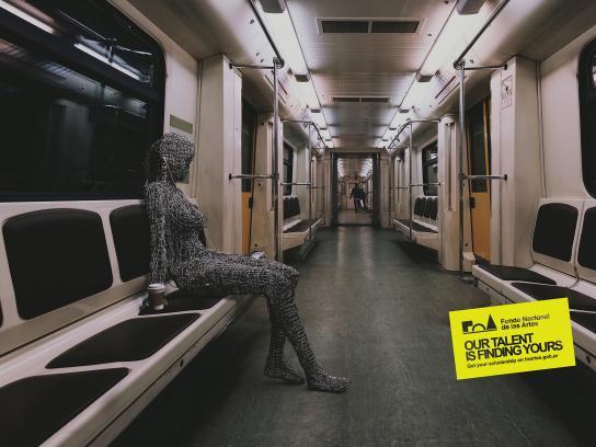 Fondo Nacional De Las Artes Print Ad - Metro