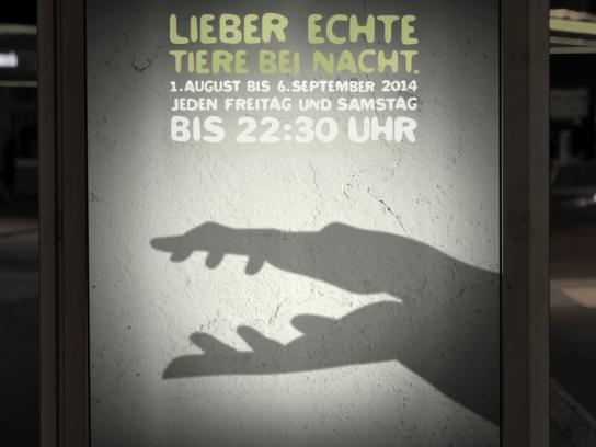 Salzburg Zoo Outdoor Ad -  Alligator