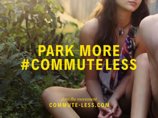 Commute Less Outdoor Ad - Park more