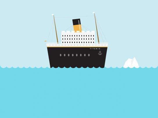 Future Shorts Print Ad -  Titanic