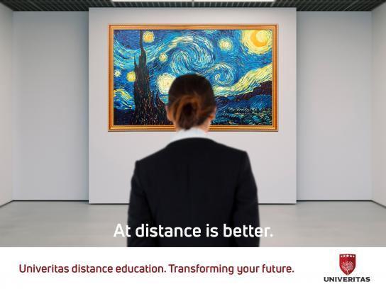 Univeritas Print Ad - Vangogh