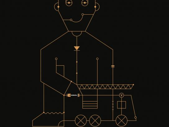 Duracell Print Ad -  Gameflow - firetruck