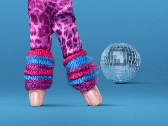 Scholl Outdoor Ad - Disco