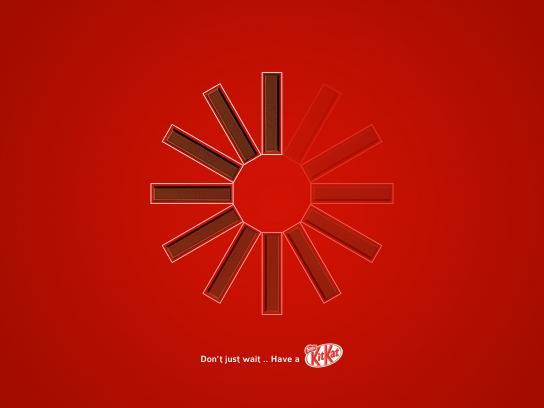 Kit Kat Print Ad - Kit Kat, 1
