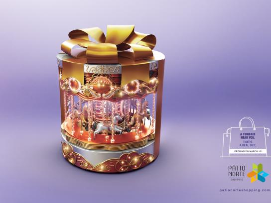 Pátio Norte Shopping Print Ad -  Real gift, 3