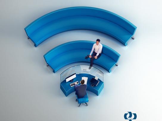 Refah Bank Print Ad -  E-Banking, 2