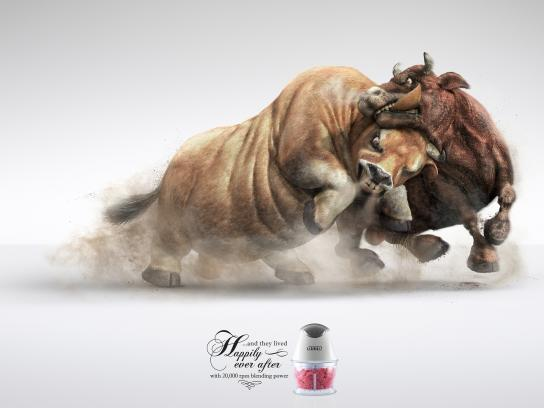 OTTO Print Ad -  Bulls