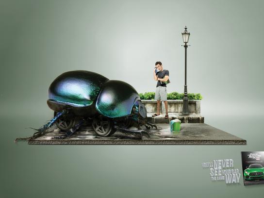 Automovil Panamericano Print Ad - Beetle
