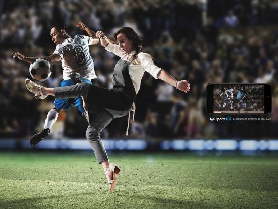 TyC Sports Print Ad - Housewife