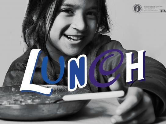 BANCO DE ALIMENTOS Print Ad - Lunch