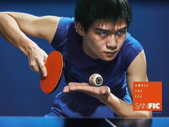 Sanfic Print Ad - Ping Pong