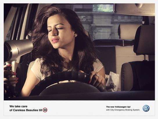 Volkswagen Print Ad -  Careless, 3