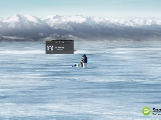 Spotify Print Ad -  Ice Ice Baby